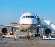 Avión de pasajeros Fotos de archivo libres de regalías