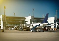Avión de pasajeros Fotos de archivo