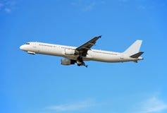 Avión de pasajeros de Airbus A-321 Fotografía de archivo