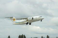 Avión de pasajeros de Antonov An-148 Imagen de archivo libre de regalías