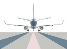 Avión de pasajeros de Boeing Fotografía de archivo libre de regalías