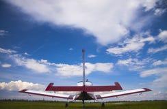 Avión de propulsor del detrás Imagen de archivo