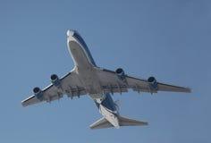 Avión de reacción del cargo Imagen de archivo libre de regalías