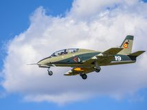 Avión de reacción militar Imágenes de archivo libres de regalías