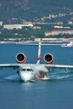 Avión del anfibio de Beriev Be-200 Foto de archivo libre de regalías