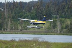 Avión del flotador foto de archivo