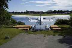 Avión del flotador Foto de archivo libre de regalías