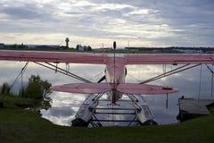 Avión del flotador Fotos de archivo libres de regalías
