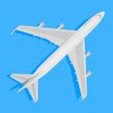 avión del vector Fotografía de archivo libre de regalías