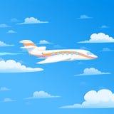 Avión del vuelo Imagen de archivo