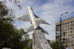 Avión MiG-21 fotografía de archivo