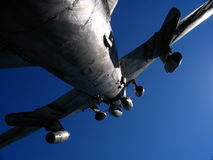 Avión militar foto de archivo