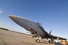 Avión militar americano Fotos de archivo libres de regalías