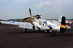 Avión militar antiguo fotografía de archivo libre de regalías