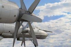 Avión militar del bombardero Imagen de archivo