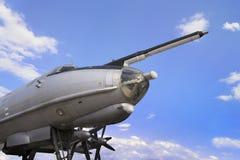 Avión militar del bombardero Imágenes de archivo libres de regalías