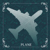 Avión, pintura decorativa Fotos de archivo libres de regalías