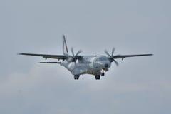 Avión polaco de la fuerza aérea Fotografía de archivo libre de regalías