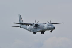 Avión polaco de la fuerza aérea Imagenes de archivo