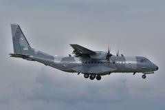 Avión polaco de la fuerza aérea Imagen de archivo libre de regalías
