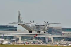 Avión polaco de la fuerza aérea Imágenes de archivo libres de regalías