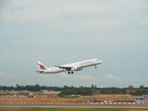 Avión - SriLankan Airlines Imagenes de archivo