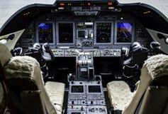 Aviónica de la aviación Imagen de archivo libre de regalías