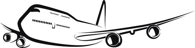 Aviões Fotografia de Stock