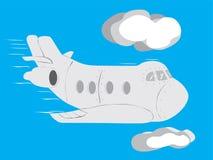 Aviões ilustração royalty free