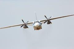 Aviões AN-26 do turboprop do transporte do russo fotografia de stock royalty free
