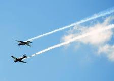 Aviões. Foto de Stock