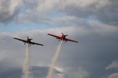 Aviões Foto de Stock
