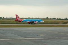 Aviões Air Asia Imagens de Stock Royalty Free