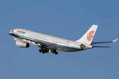 Aviões AirChina de Airbus A330 Fotografia de Stock