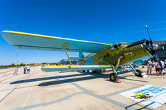 Aviões Antonov An-2 Fotos de Stock Royalty Free