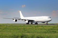 Aviões brancos Fotografia de Stock