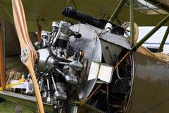 Aviões britânicos do biplano da primeira réplica de Sopwith Strutter da guerra mundial Imagens de Stock