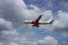 Aviões da aterrissagem Imagem de Stock