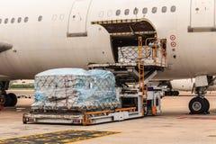 Aviões da carga foto de stock royalty free