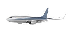 Aviões da carga isolados no branco Fotografia de Stock Royalty Free
