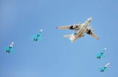 Aviões da força aérea do russo Imagem de Stock