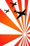 Aviões da guerra Imagem de Stock