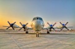 Aviões da hélice Foto de Stock