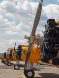 Aviões da hélice do vintage Imagem de Stock