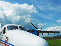 Aviões da lontra do gêmeo de Havilland Canadá DHC-6 fotografia de stock royalty free