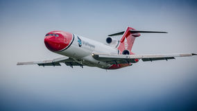Aviões da resposta do derramamento de óleo Imagens de Stock Royalty Free