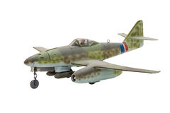 Aviões da segunda guerra mundial no fundo branco Foto de Stock Royalty Free