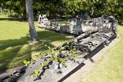 Aviões da segunda guerra mundial, Rabaul Fotografia de Stock