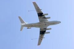 Aviões da sustentação do combustível fotografia de stock