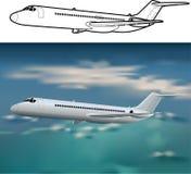 Aviões DC-9 Fotografia de Stock Royalty Free